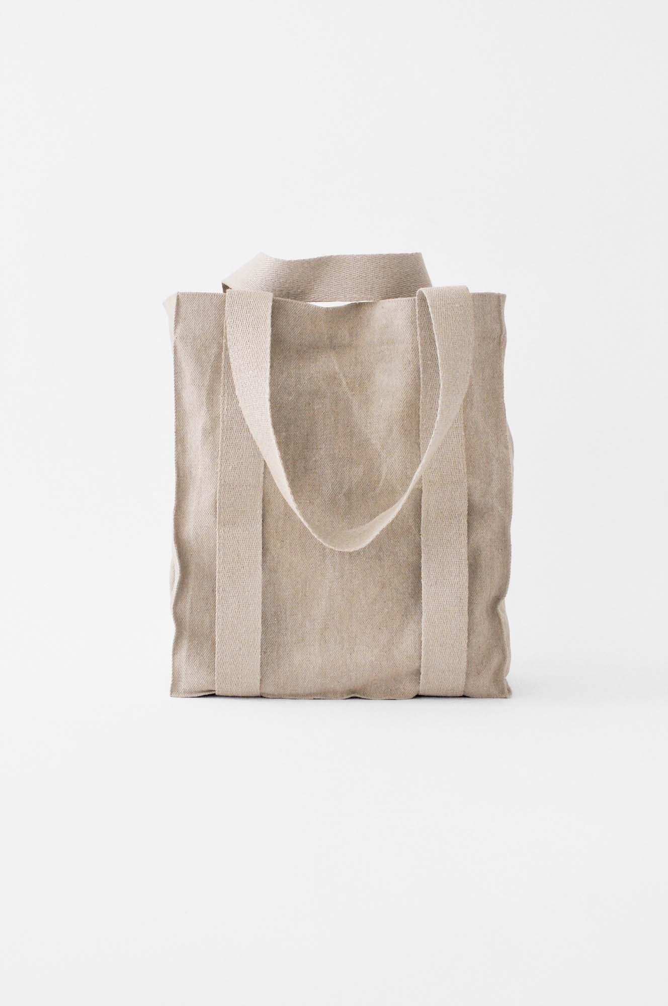 Linen yoga tote bag | Lino Yoga Co.